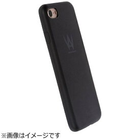 WALKONWATER iPhone 7用 Milano Color Cover ブラック WOW-IPH7M-BK