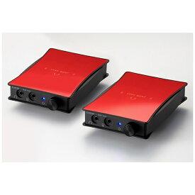 ORB オーブ ポータブルヘッドホンアンプ 2セット JADE next Ultimate bi power HD25-Unbalanced (Red) JNUBIPHD25UB 【受発注・受注生産商品】[JNUBIPHD25UBR]