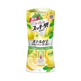 アース製薬 Earth トイレのスッキーリ!Sukki-ri! ミントグレープフルーツの香り 〔消臭剤・芳香剤〕【rb_pcp】