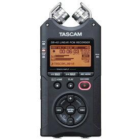 TASCAM タスカム DR-40VER2-J ICレコーダー [ハイレゾ対応][録音機 ボイスレコーダー 小型 高音質 長時間]
