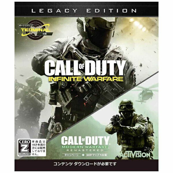 マイクロソフト Microsoft コール オブ デューティ インフィニット・ウォーフェア レガシーエディション【Xbox Oneゲームソフト】