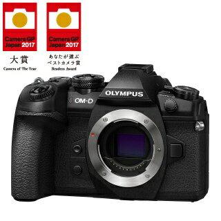 【送料無料】 オリンパス OM-D E-M1 Mark II【ボディ(レンズ別売)】(ブラック)/ミラーレス一眼カメラ[OMDEM1MARK2ボディー]