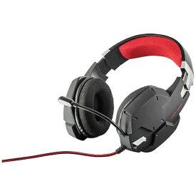 トラスト TRUST 20408 有線ゲーミングヘッドセット GXT 322 Carus black [φ3.5mmミニプラグ /両耳 /ヘッドバンドタイプ][20408]