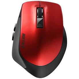 BUFFALO バッファロー BSMBB500LRD マウス BSMBB500Lシリーズ レッド [BlueLED /5ボタン /Bluetooth /無線(ワイヤレス)][BSMBB500LRD]