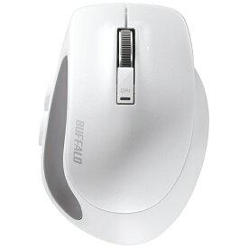 BUFFALO バッファロー BSMBB500SWH マウス BSMBB500Sシリーズ ホワイト [BlueLED /5ボタン /Bluetooth /無線(ワイヤレス)][BSMBB500SWH]