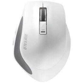 BUFFALO バッファロー BSMBB500MWH マウス BSMBB500Mシリーズ ホワイト [BlueLED /5ボタン /Bluetooth /無線(ワイヤレス)][BSMBB500MWH]