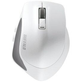 BUFFALO バッファロー BSMBB500LWH マウス BSMBB500Lシリーズ ホワイト [BlueLED /5ボタン /Bluetooth /無線(ワイヤレス)][BSMBB500LWH]
