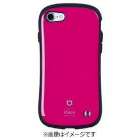 HAMEE ハミィ iPhone 7用 iface First Classケース ホットピンク