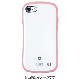 HAMEE ハミィ iPhone 7用 iface First Class Pastelケース ホワイト/ピンク