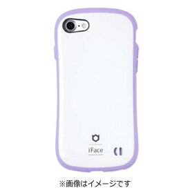 HAMEE ハミィ iPhone 7用 iface First Class Pastelケース ホワイト/パープル