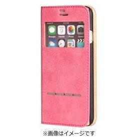 HAMEE ハミィ iPhone 7用 手帳型 COSMO FLIP コスモフリップ窓付きダイアリーケース ホットピンク