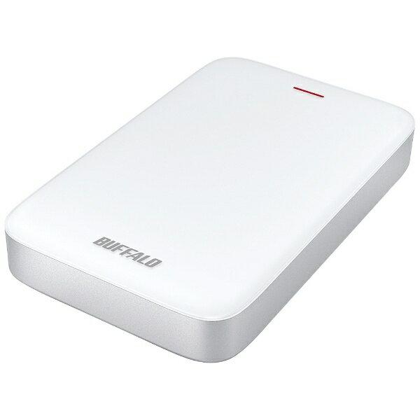 BUFFALO バッファロー HD-PA2.0TU3-C 外付けHDD MiniStation HD-PATU3-Cシリーズ ホワイト [ポータブル型 /2TB][HDPA20TU3C]