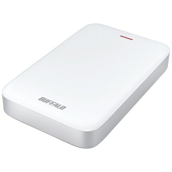 BUFFALO バッファロー HD-PA1.0TU3-C 外付けHDD MiniStation HD-PATU3-Cシリーズ ホワイト [ポータブル型 /1TB][HDPA10TU3C]