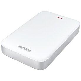 BUFFALO バッファロー HD-PA1.0TU3-C 外付けHDD ホワイト [ポータブル型 /1TB][HDPA10TU3C]