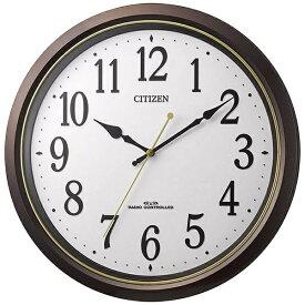 シチズン CITIZEN 掛け時計 茶メタリック 8MY517-006 [電波自動受信機能有]