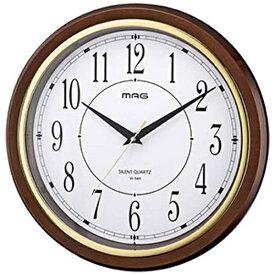 ノア精密 NOA 掛け時計 モアマグ ブラウン W-648BR-Z