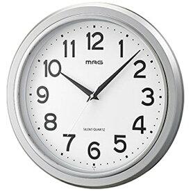 ノア精密 NOA 掛け時計 モアマグ シルバー W-648SM-Z