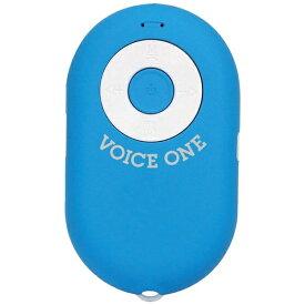 セキセイ SEKISEI MA-105 ブルートゥース スピーカー VOICE ONE(ボイスワン) ブルー [Bluetooth対応][MA105]