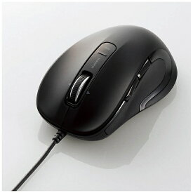 エレコム ELECOM マウス ブラック M-LS15ULBK [レーザー /有線 /5ボタン /USB]【rb_mouse_cpn】