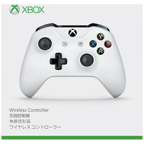 【送料無料】 マイクロソフト Microsoft 【純正】Xbox One ワイヤレスコントローラー(ホワイト)【XboxOne】