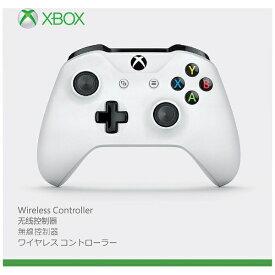 マイクロソフト Microsoft 【純正】Xbox One ワイヤレスコントローラー(ホワイト)【XboxOne】