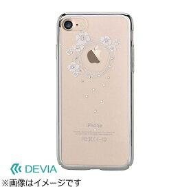 BELEX ビーレックス iPhone 7用 Devia Crystal Garland シルバー BLDVCS7009SL