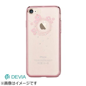 BELEX ビーレックス iPhone 7 Plus用 Devia Crystal Garland ローズゴールド BLDVCS7036RG