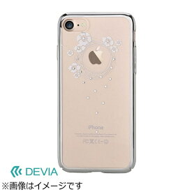 BELEX ビーレックス iPhone 7 Plus用 Devia Crystal Garland シルバー BLDVCS7036SL
