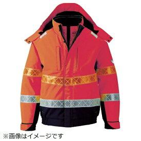 ジーベック XEBEC ジーベック 802 高視認防水防寒ブルゾン LL オレンジ 802-82-LL《※画像はイメージです。実際の商品とは異なります》