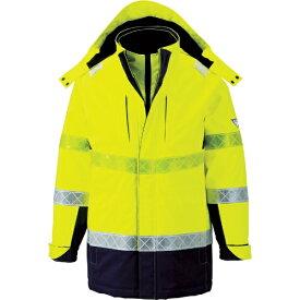 ジーベック XEBEC ジーベック 801 高視認防水防寒コート M イエロー 801-80-M