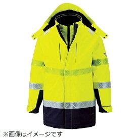 ジーベック XEBEC ジーベック 801 高視認防水防寒コート L イエロー 801-80-L《※画像はイメージです。実際の商品とは異なります》