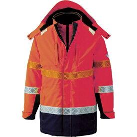 ジーベック XEBEC ジーベック 801 高視認防水防寒コート M オレンジ 801-82-M