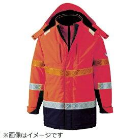 ジーベック XEBEC ジーベック 801 高視認防水防寒コート L オレンジ 801-82-L《※画像はイメージです。実際の商品とは異なります》