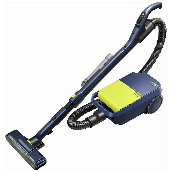 シャープ SHARP EC-KP15P-Y 紙パック式掃除機 イエロー系 [紙パック式][ECKP15P 掃除機]