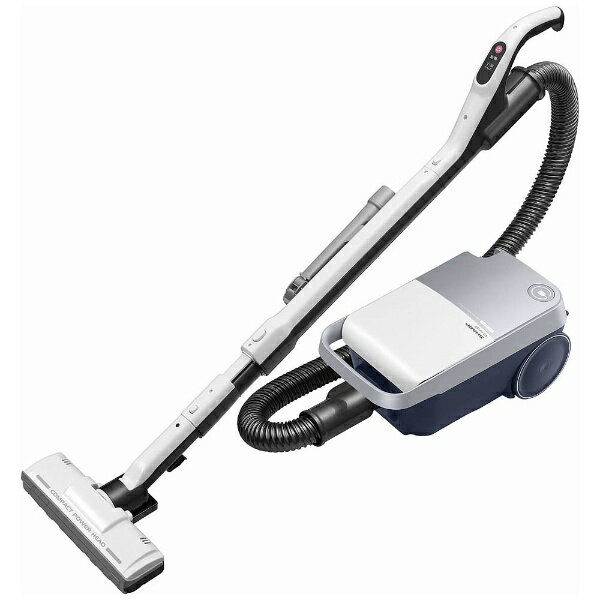 シャープ SHARP EC-KP15P-W 紙パック式掃除機 ホワイト系 [紙パック式][ECKP15P 掃除機]