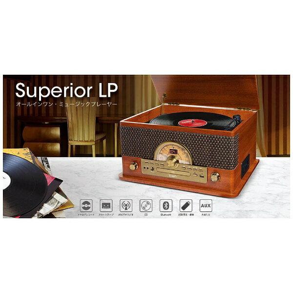 IONAUDIO USB端子搭載レコードプレーヤー Superior LP[SUPERIORLP]
