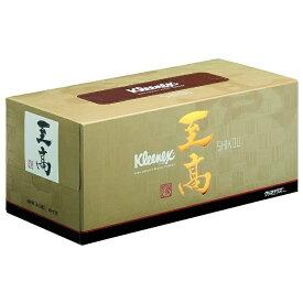 日本製紙クレシア crecia kleenex(クリネックス)至高のティシュー(160組)