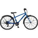 【送料無料】 ブリヂストン 24型 子供用自転車 シュライン(F.Xグリッターブルー/7段変速)SHL47【2017年モデル】【組立商品につき返品不可】 【代金引換配送不可】