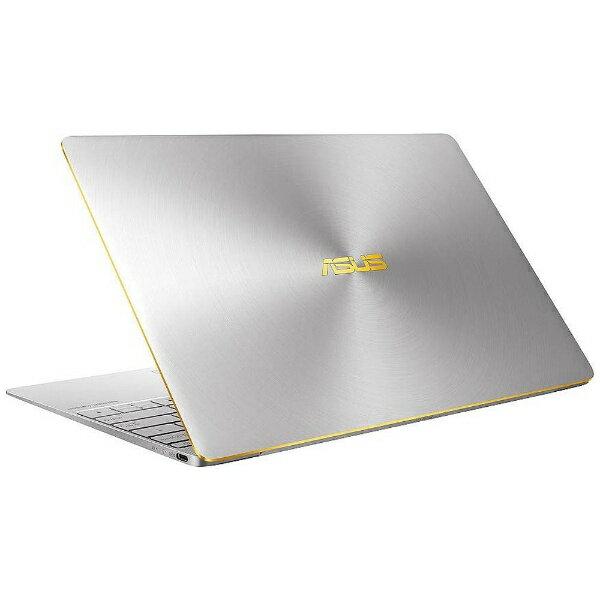 【送料無料】 ASUS 12.5型ノートPC[Office付き・Win10 Home・Core i5・SSD 512GB・メモリ 8GB] ASUS ZenBook 3 UX390UA グレー UX390UA-GS (2016年11月モデル)[UX390UAGS]