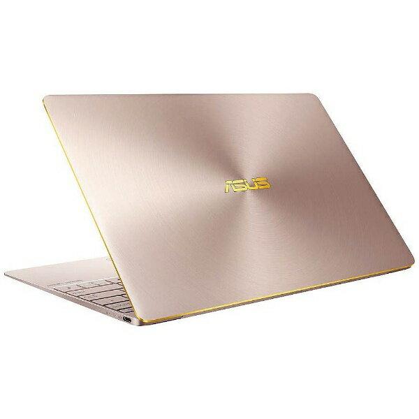 【送料無料】 ASUS 12.5型ノートPC[Office付き・Win10 Home・Core i5・SSD 512GB・メモリ 8GB] ASUS ZenBook 3 UX390UA ローズゴールド UX390UA-RGS (2016年11月モデル)[UX390UARGS]