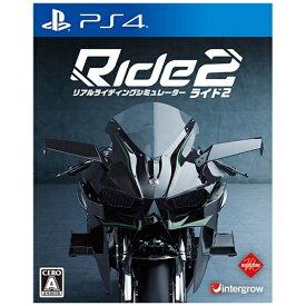 インターグロー Ride2【PS4ゲームソフト】 【代金引換配送不可】
