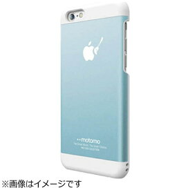 UI ユーアイ iPhone 6s Plus/6 Plus用 INO METAL BR3 アクアブルー/ホワイト motomo INOBR3PABL