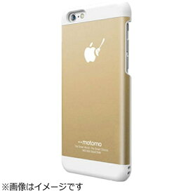 UI ユーアイ iPhone 6s Plus/6 Plus用 INO METAL BR3 ゴールド/ホワイト motomo INOBR3PGDWH