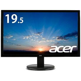 ACER エイサー LEDバックライト搭載液晶モニター K2シリーズ ブラック K202HQLAbmix [19.5型 /ワイド /フルWXGA(1366×768)][サブモニター 19.5インチ 液晶ディスプレイ]