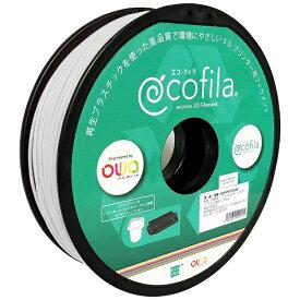 エコリカ ecorica 【互換】パーソナル3Dプリンター Value3D MagiX MFシリーズ用 リサイクルフィラメント(1.75mm・白) ECF-PS175-WH