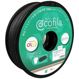 エコリカ ecorica 【互換】パーソナル3Dプリンター Value3D MagiX MFシリーズ用 リサイクルフィラメント(1.75mm・黒) ECF-PS175-BK