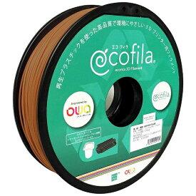 エコリカ ecorica 【互換】パーソナル3Dプリンター Value3D MagiX MFシリーズ用 リサイクルフィラメント(1.75mm・ブロンズ) ECF-PS175-BZ