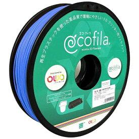 エコリカ ecorica 【互換】パーソナル3Dプリンター Value3D MagiX MFシリーズ用 リサイクルフィラメント(1.75mm・青) ECF-PS175-BU
