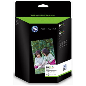 HP エイチピー J3N71AA 純正フォトバリューパック 62 3色カラー[J3N71AA]【wtcomo】