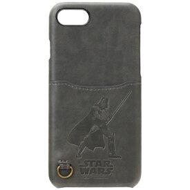 PGA iPhone 7用 STARWARS ハードケース ポケット付き ダース・ベイダー PG-DCS154DV